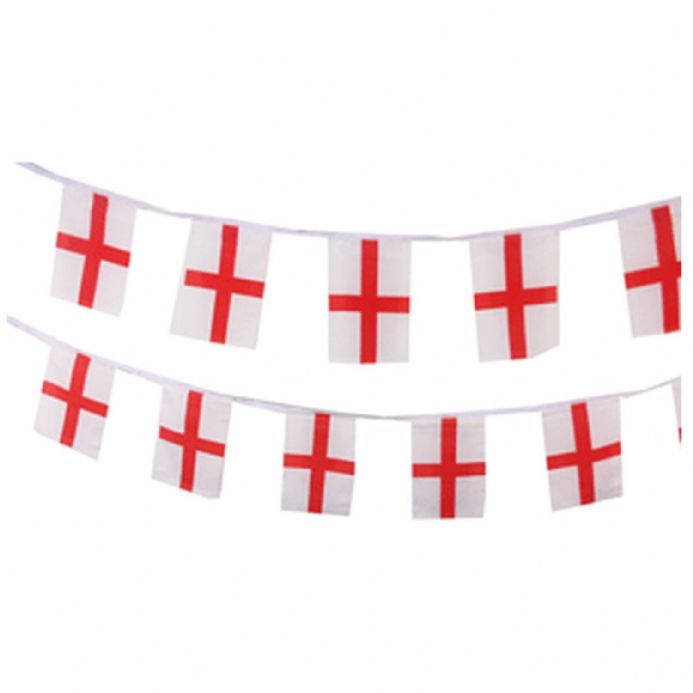 Small Polyester England Bunting